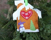 Made to order: Gingerbread Christmas Ornaments PHOTO IS SAMPLE