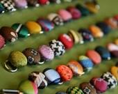 Custom Fabric Button Bracelet