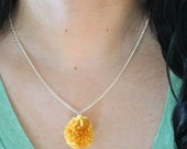 Little Pom - Pom Pom Necklace Pick Your Color