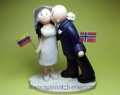 DEPOSIT - Two Become One Wedding Cake Topper