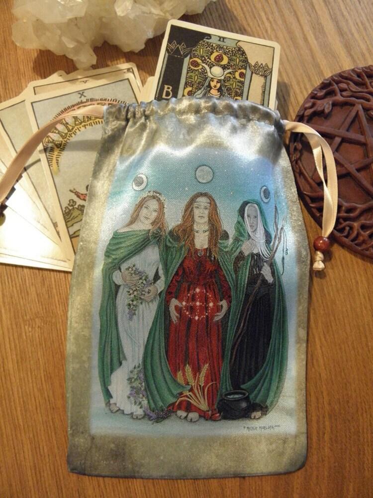 Goddess Tarot Decks: Triple Goddess Tarot Bag