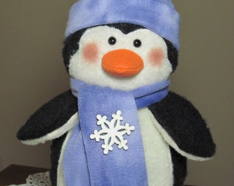 "Penguin pattern:  ""My First Winter"" - #621"