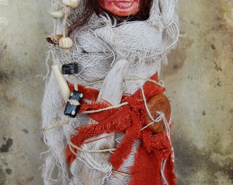 Lakai - Dream Doll - Spirit Doll - Assemblage Doll