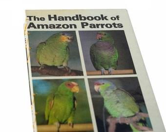 AMAZON PARROTS Vintage Sketch Notebook Journal