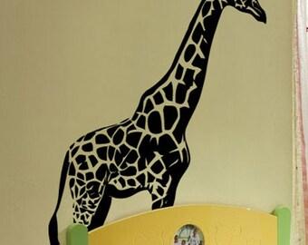 Vinyl Wall Decal Sticker 7ft Tall BIG Giraffe 84x59 item 383A