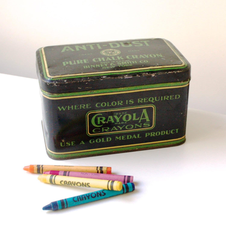 Vintage Crayola Crayon...