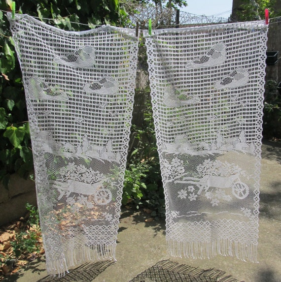 lace curtains, cafe curtains, lace curtain panels, net curtains