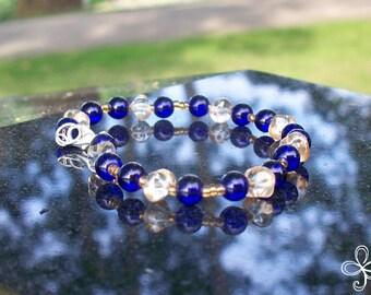 Celestial Chunks Glass Bracelet