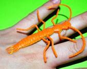 Orange Bug Ring
