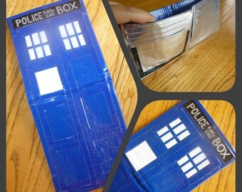 Doctor Who TARDIS Duct Tape Bi-fold Wallet