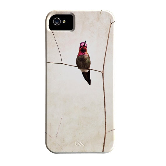 iPhone 5 Hummingbird Case, Barely There, Bird iPhone Case, Hummingbird IPhone Case