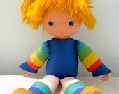 Vintage Large Rainbow Brite Doll