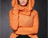 Orange circle design jacket