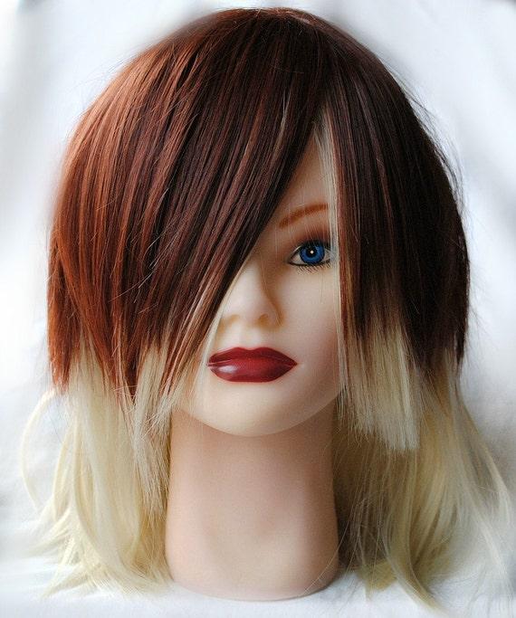 vanilla bean wig blonde brown hair medium by missvioletlace. Black Bedroom Furniture Sets. Home Design Ideas
