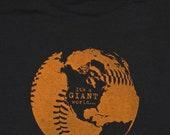 It's a GIANT World ... T-Shirt - Black - Men's - Small - Long Sleeve
