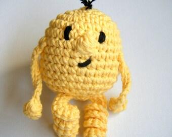 CUSTOM Hand Crocheted Amigurumi Monster Made to Order