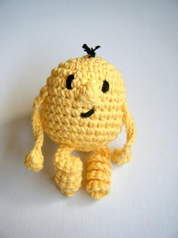 Amigurumi Monster Crochet : CUSTOM Hand Crocheted Amigurumi Monster Made to Order