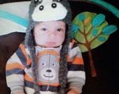 Little Pony Hat, Horse Hat, Crochet Pony Hat