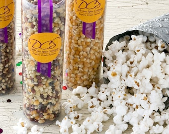 Gourmet popcorn sampler - deluxe gift set of old fashioned popping corn for unique gift