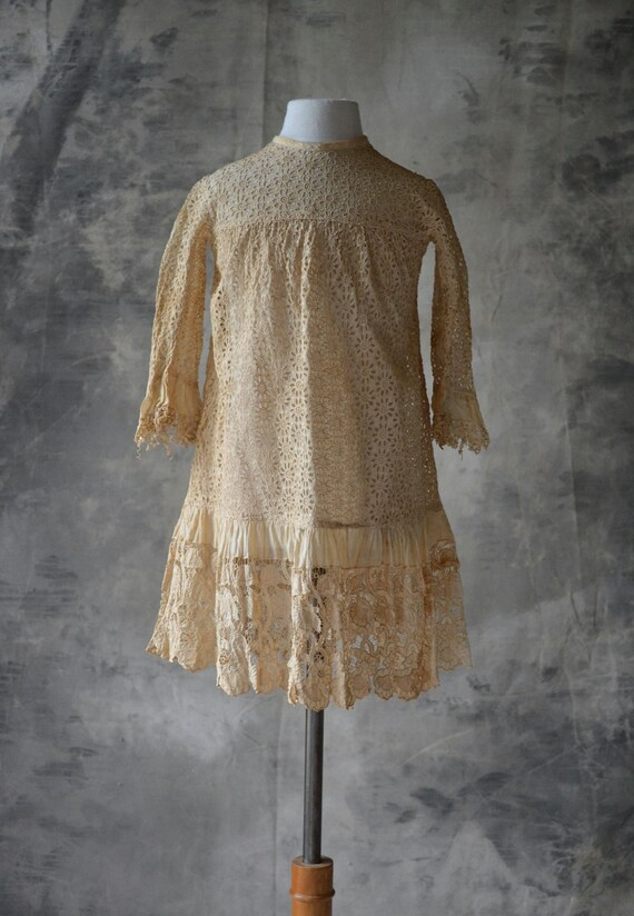 Victorian Lace Childs Dress