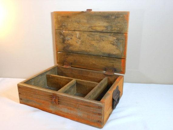 Vintage Rustic Wood Box