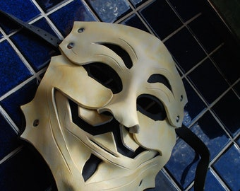 Guy Fawkes Leather Mask