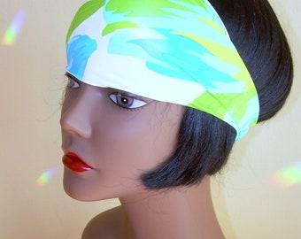 Womens Workout Headband, yoga accessories, crossfit, fitness, festival, teen girl hairband