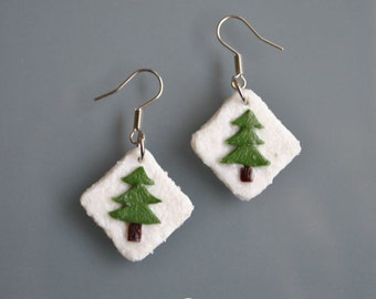 Pine Trees Earrings
