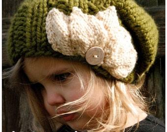 Knitting PATTERN-The Setiya Slouchy (Toddler, Child and Adult sizes)