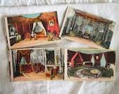 Antique French Interiors Souvenir Postcards