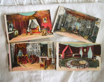 Antique French Interiors Souvenir Postcards