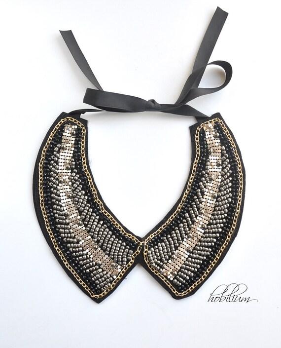 Collar Necklace-Col Claudine peter pan