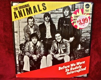 THE ANIMALS - Before We Were So Rudely Interrupted - 1977 Vintage Vinyl Record Album