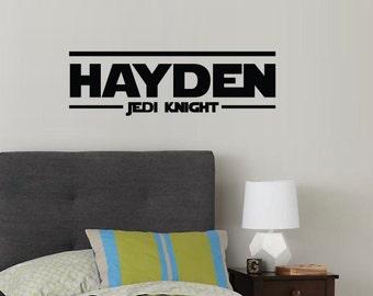 Star Wars - Jedi Knight Monogram