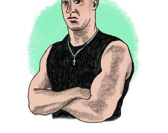 Vin Diesel Print