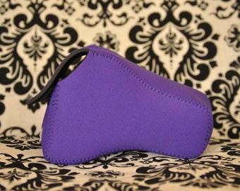 DSLR Camera Case - Deep purple Neoprene