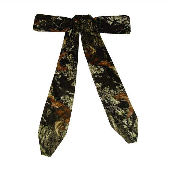Camo sash Mossy Oak camouflage wedding belt sash made to order