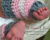 """Baby Leg Warmers  Pattern Crochet """"Sweet Lil Leg Warmers"""""""