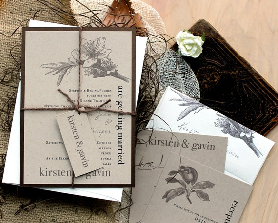 Wedding Invites Rustic: Rustic Wedding Invitations Wedding Invitation Rustic