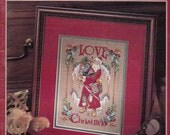 1990s Cross Stitch Merry Christmas Collection Leisure Arts Leaflet 2691 Christmas Cross Stitch Counted Cross Stitch