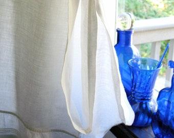 Antique White Undergarment - Vintage Women's Open Drawers