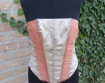 Sample Sale: Bustier Andrea (wedding, renfaire, fantasy events, cosplay, larp) - size 36/38 - <READY TO SHIP>