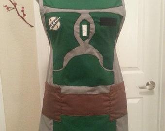Boba Fett inspired apron