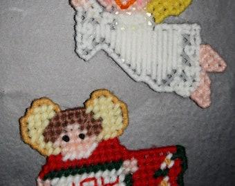 2138A Christmas Angel Magnet Set