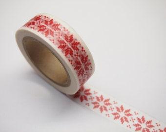 Christmas Snowflakes Washi Tape (10M)