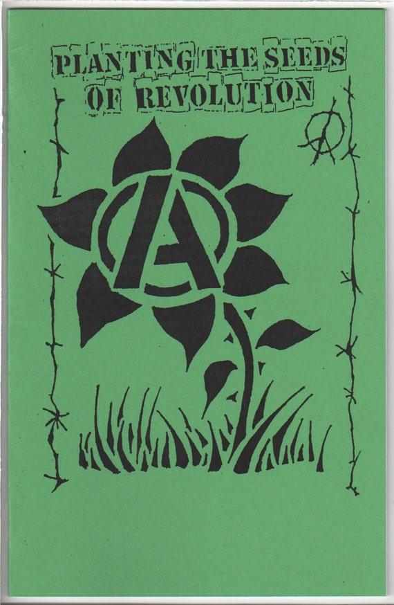 Planting the Seeds of Revolution Vegan Cookbook Zine