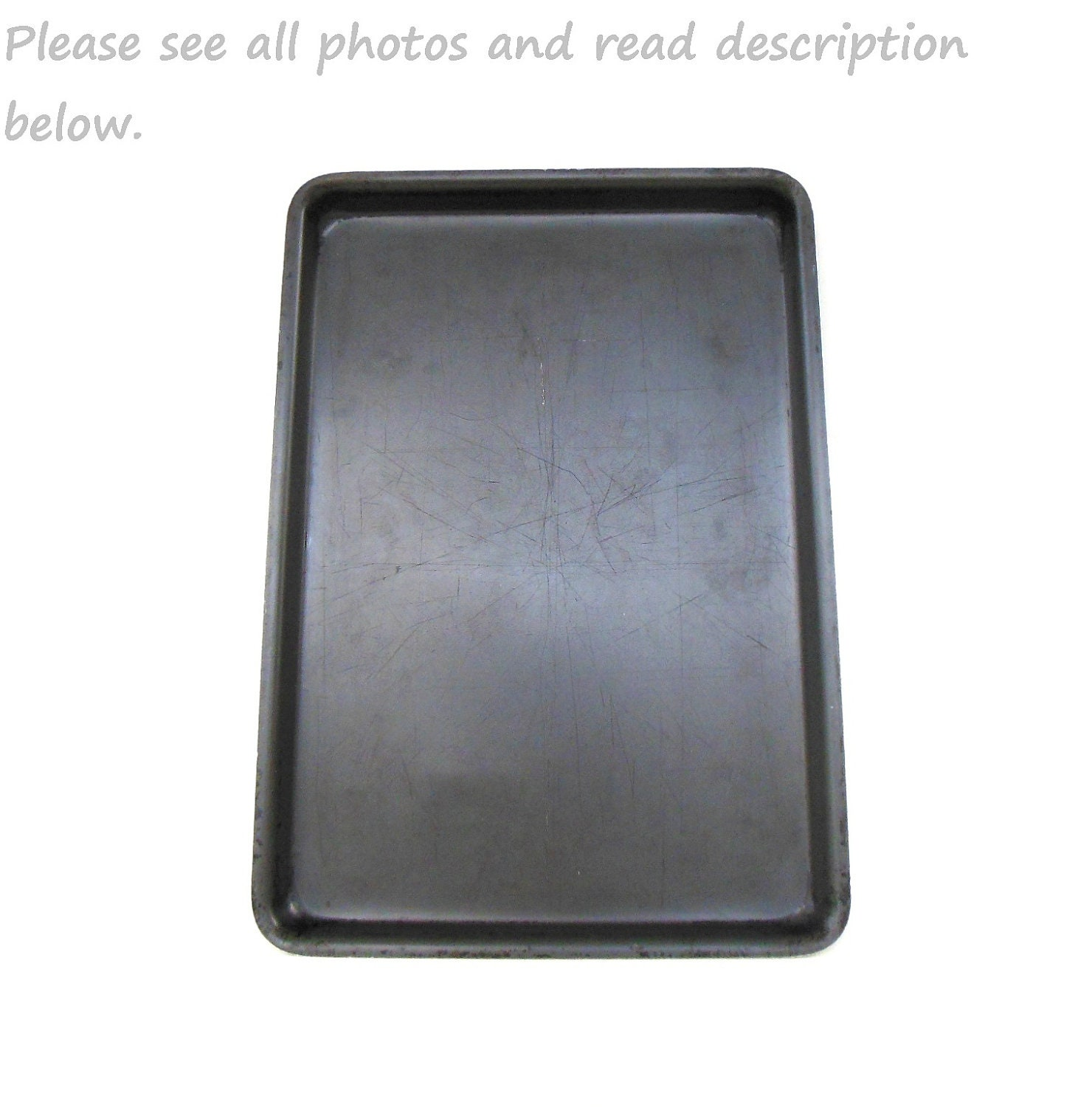 Miracle Maid Cookie Sheet Baking Tray Anodized Aluminum