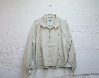 Vintage JC Penny The FOX Tan Spring Jacket Coat XL