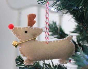 Corgi Christmas Decoration - Corgi Ornament - Corgi Christmas Ornament