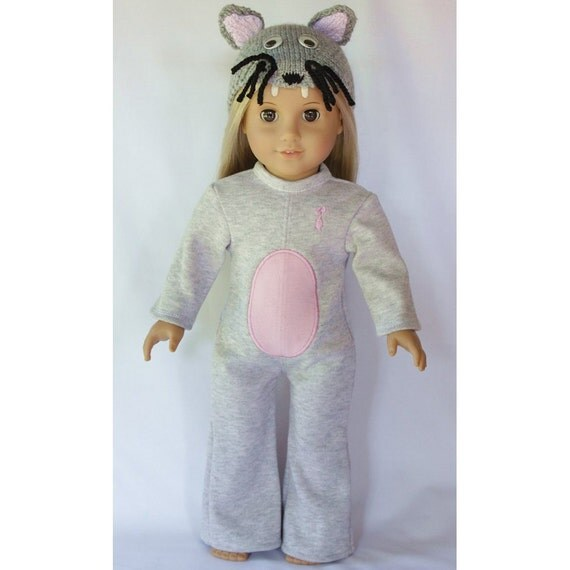 """18"""" Doll Clothes - Mouse Outfit to fit American Girl"""